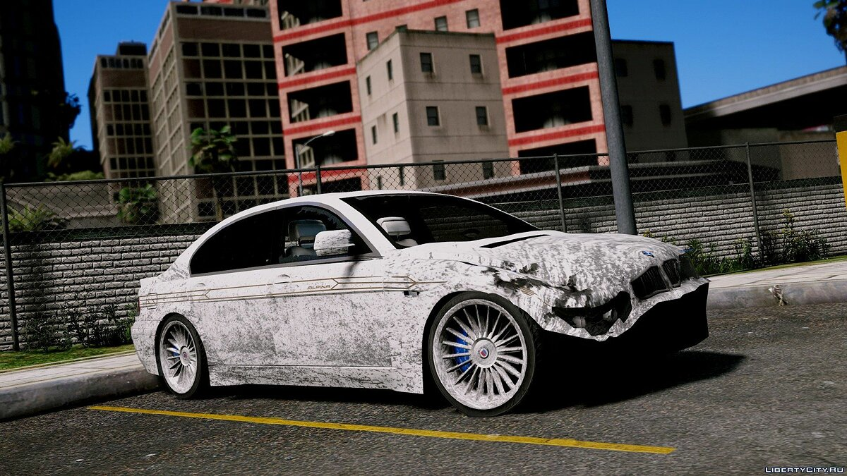 2004 BMW Alpina B7 (E65 Pre-Facelift) [Add-On/Replace/Extras] 2.0 для GTA 5 - скриншот #6