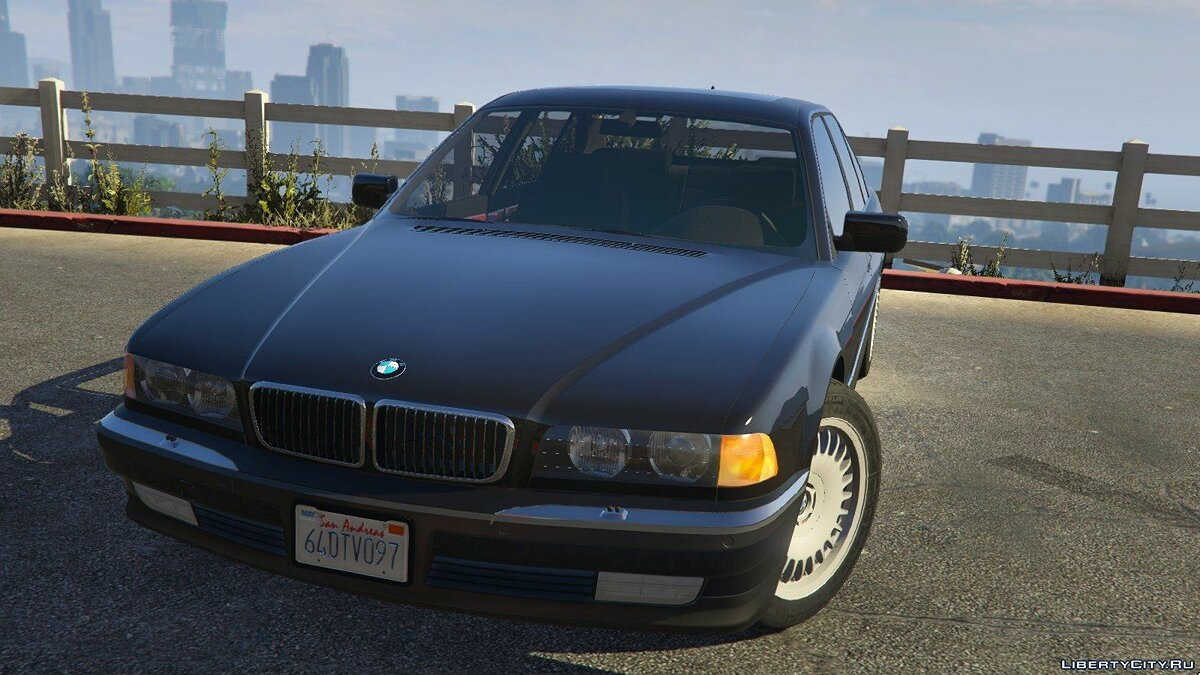 BMW 750i (e38) [Add-On / Replace] v1.1 для GTA 5 - скриншот #2