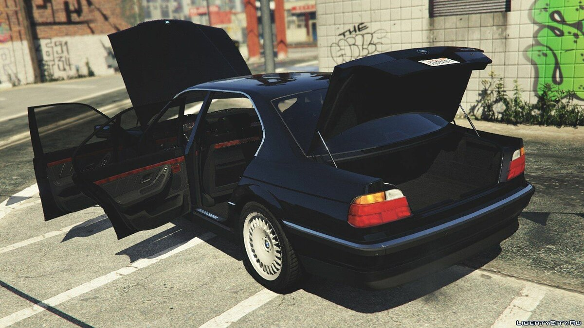 BMW 750i (e38) [Add-On / Replace] v1.1 для GTA 5 - скриншот #6
