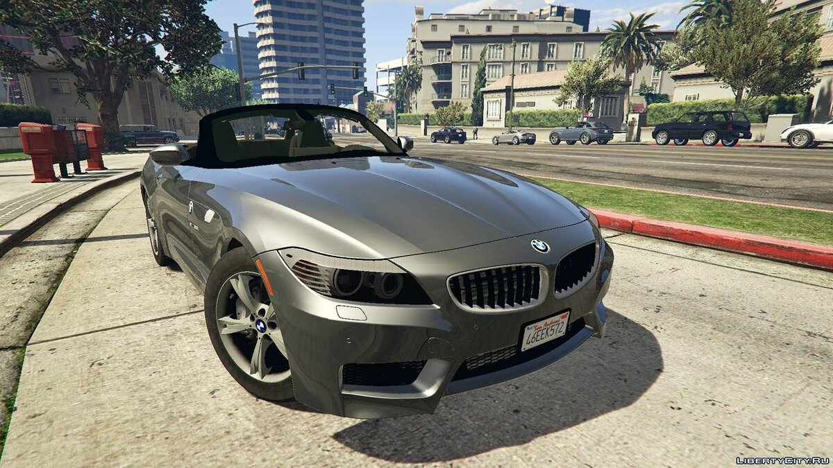 2012 BMW Z4 sDrive28i для GTA 5 - Картинка #1