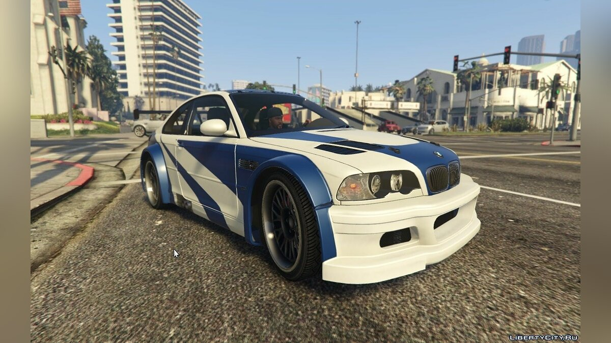 "BMW M3 GTR E46 ""Most Wanted"" для GTA 5 - скриншот #2"