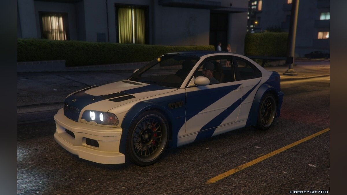 "BMW M3 GTR E46 ""Most Wanted"" для GTA 5 - скриншот #4"