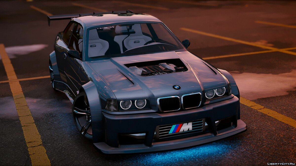 BMW M3 E36 V8 Biturbo [Add-On | Tuning] 1.1 для GTA 5