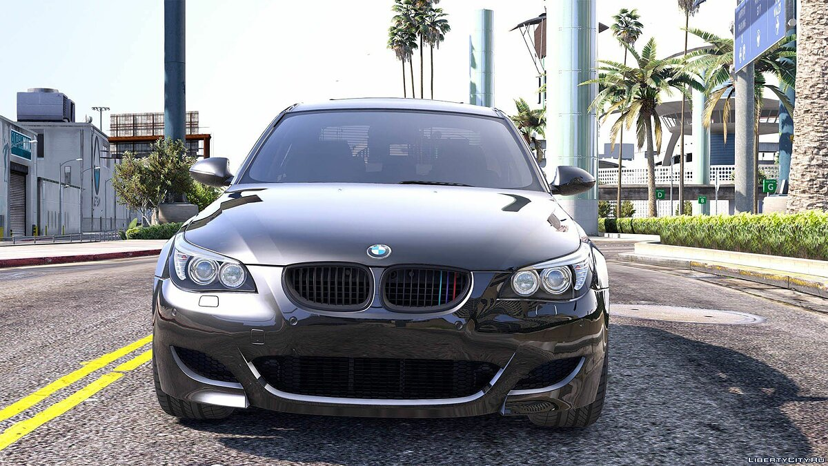 BMW M5 E60 [Add-On / Replace | Animated | Template] 1.0a для GTA 5