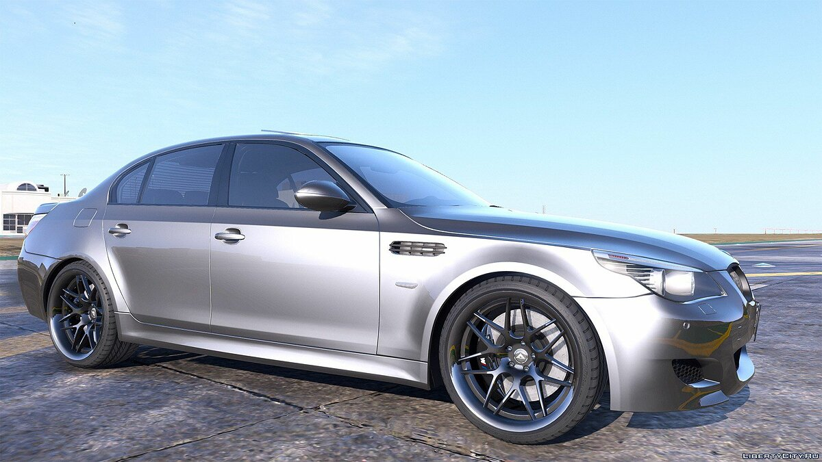 BMW M5 E60 [Add-On / Replace | Animated | Template] 1.0a для GTA 5 - скриншот #2