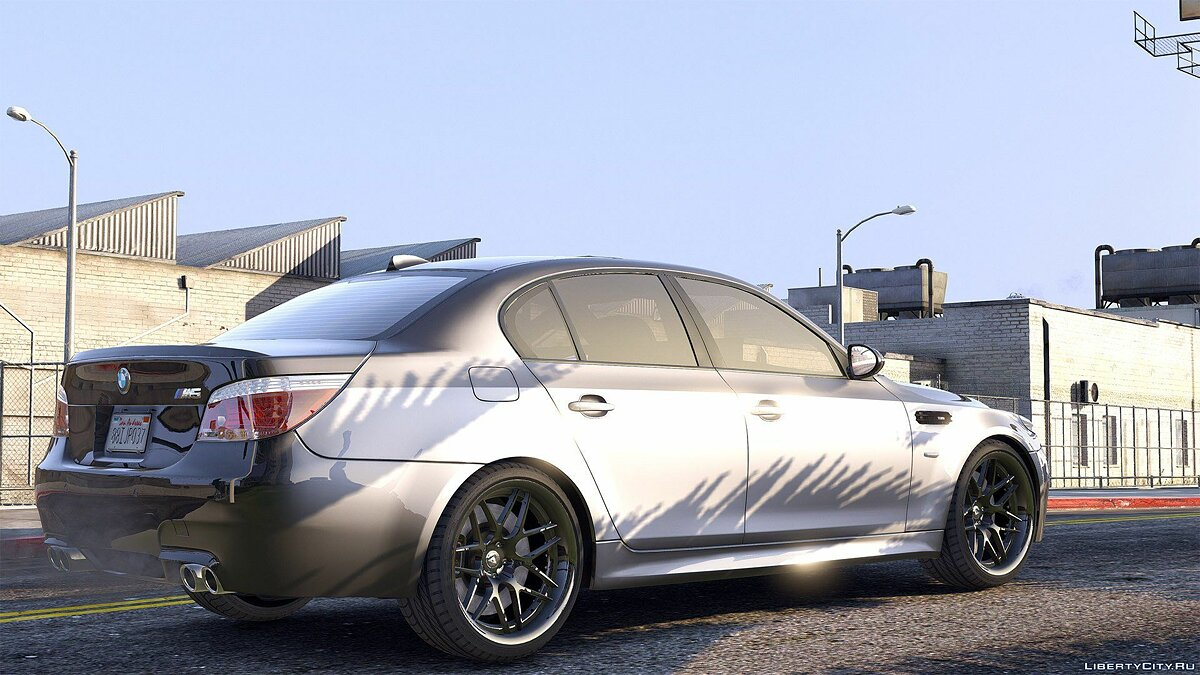 BMW M5 E60 [Add-On / Replace | Animated | Template] 1.0a для GTA 5 - скриншот #3