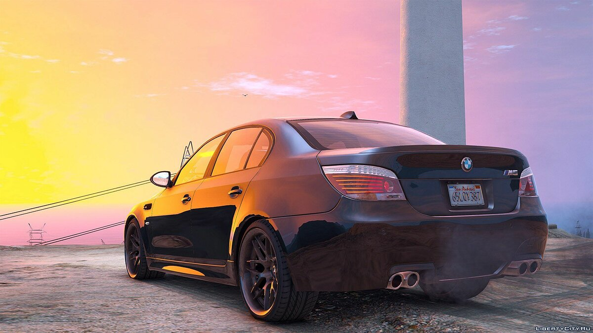 BMW M5 E60 [Add-On / Replace | Animated | Template] 1.0a для GTA 5 - скриншот #8