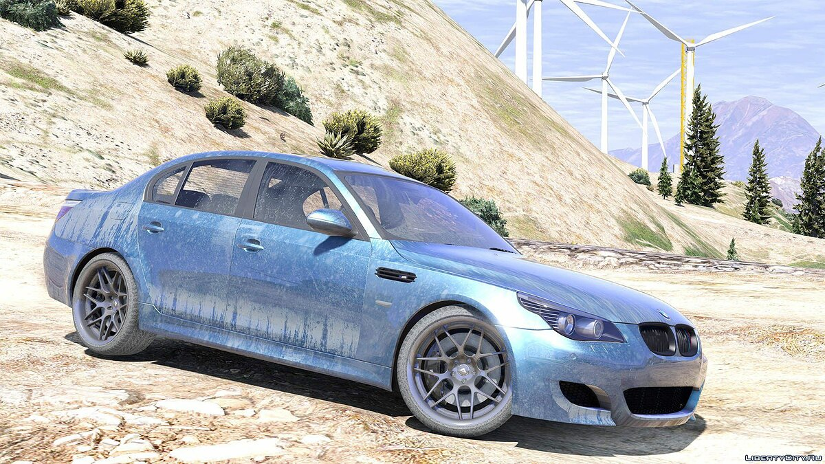 BMW M5 E60 [Add-On / Replace | Animated | Template] 1.0a для GTA 5 - скриншот #11