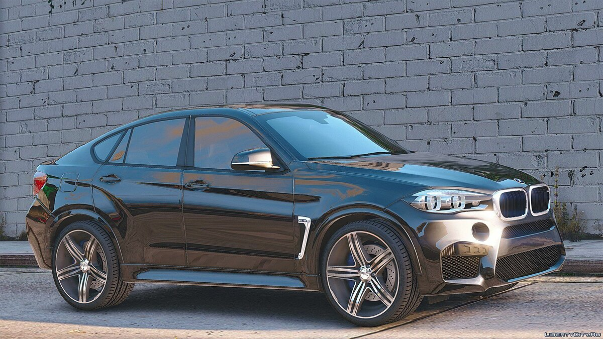 BMW X6M F16 [Add-On / Replace | Animated] 3.0 для GTA 5