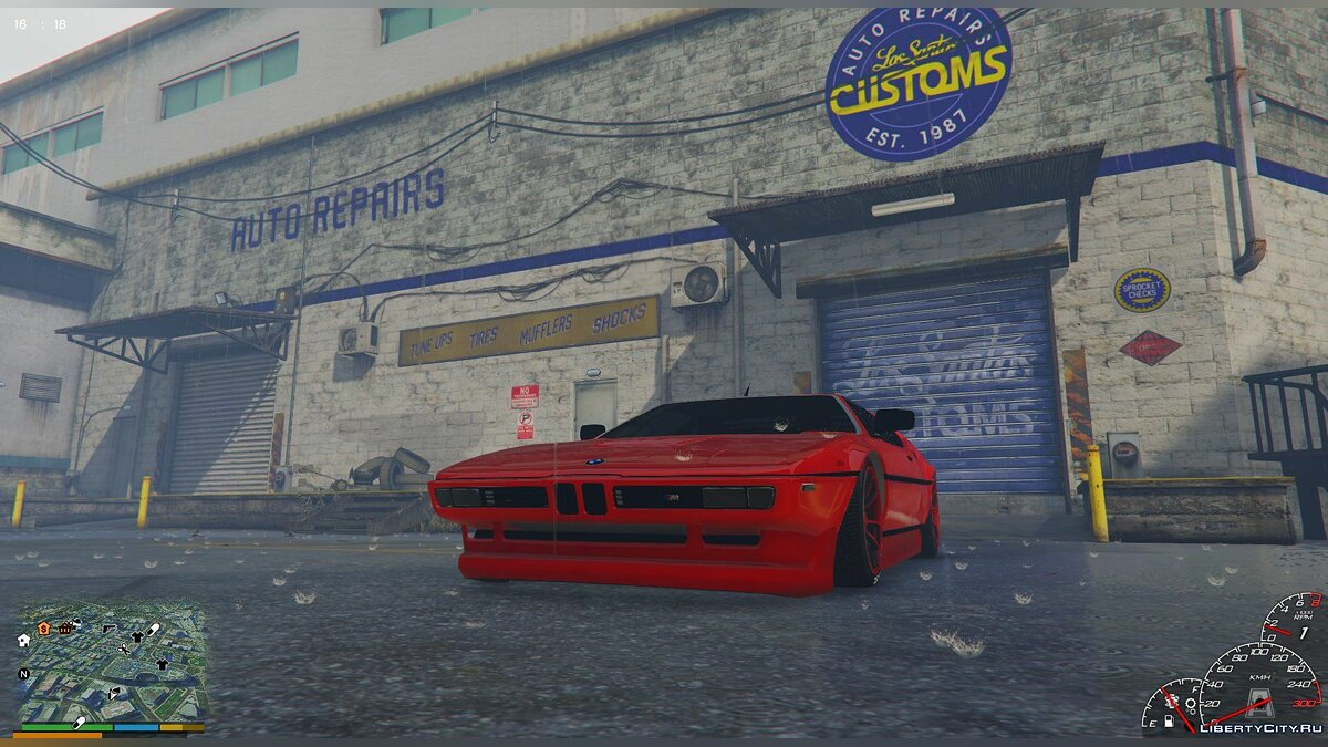 1980 BMW M1 [Replace] 1.0 для GTA 5