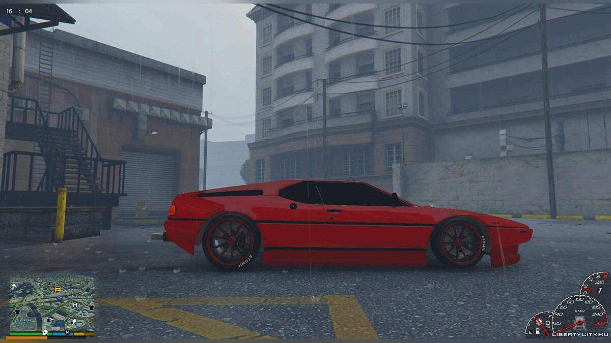 1980 BMW M1 [Replace] 1.0 для GTA 5 - скриншот #3
