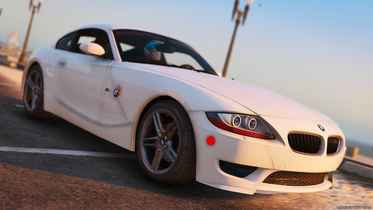 2008 BMW Z4M (E86) Coupe [Tuning | HQ Engine] 0.06 для GTA 5 - скриншот #2