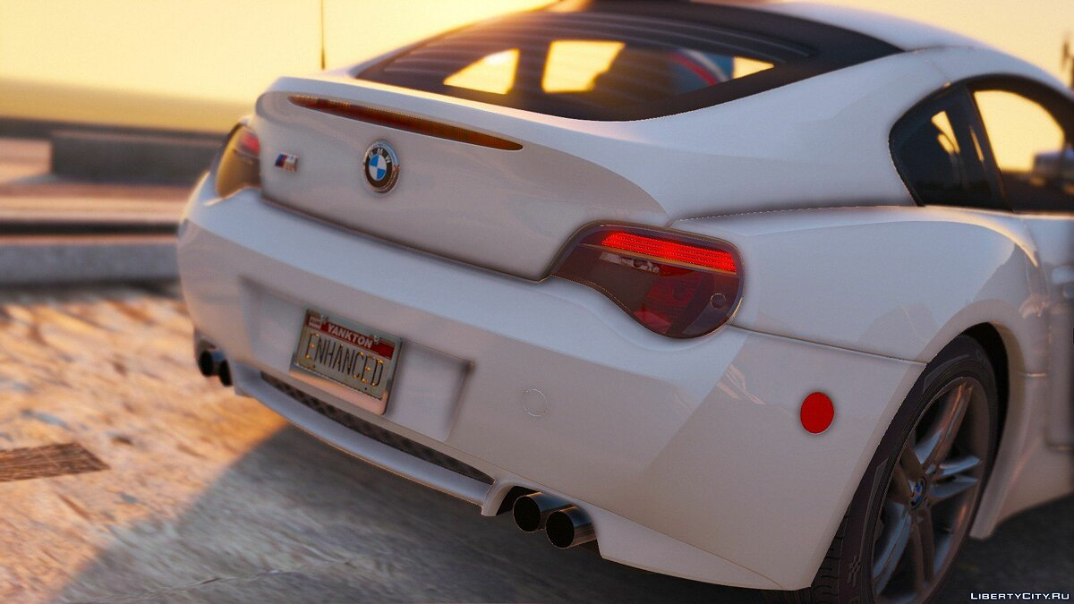 2008 BMW Z4M (E86) Coupe [Tuning | HQ Engine] 0.06 для GTA 5 - скриншот #4
