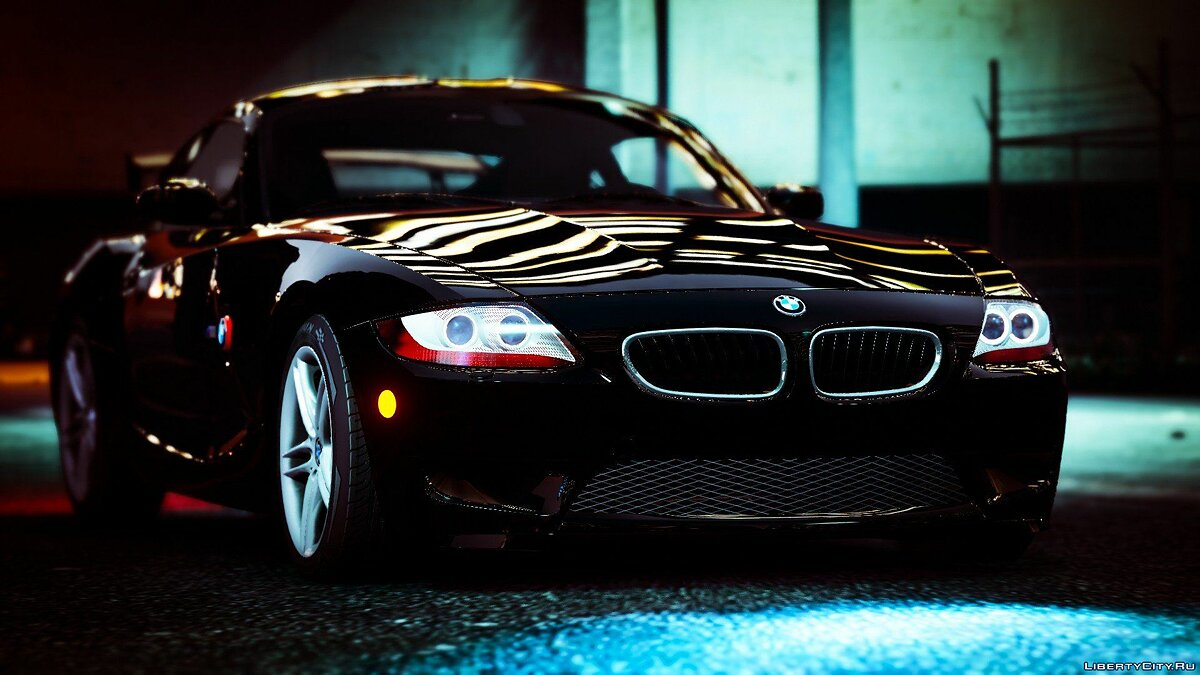 2008 BMW Z4M (E86) Coupe [Tuning | HQ Engine] 0.06 для GTA 5 - скриншот #7