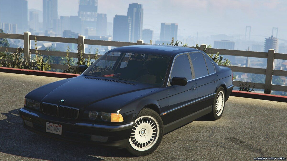 BMW 750i (e38) [Add-On / Replace] v1.0 для GTA 5 - скриншот #5