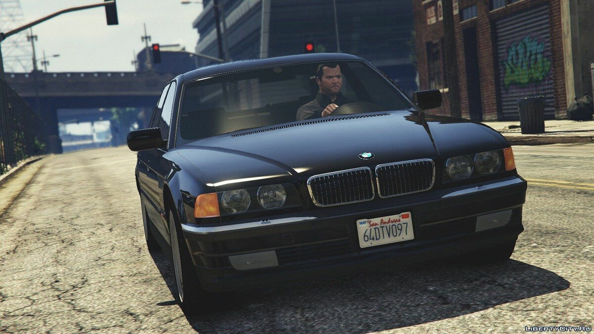 BMW 750i (e38) [Add-On / Replace] v1.0 для GTA 5 - скриншот #3