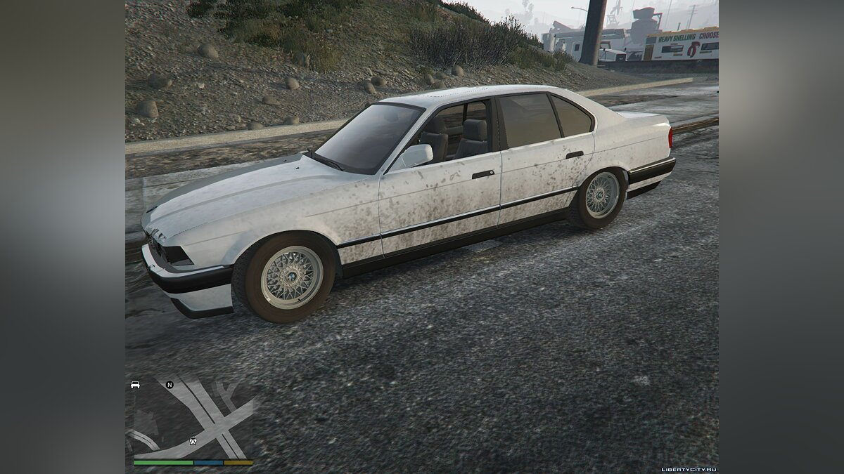 BMW 7-er E32 [Add-On Replace] 1.1 для GTA 5 - скриншот #5