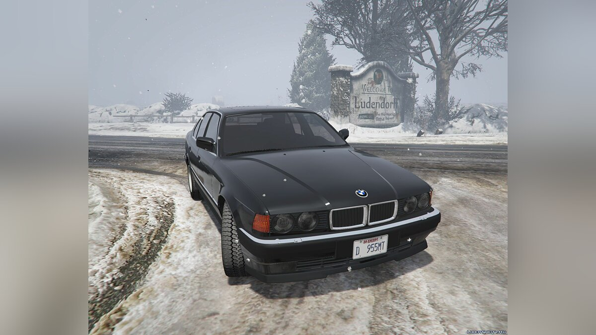BMW 7-er E32 [Add-On Replace] 1.1 для GTA 5
