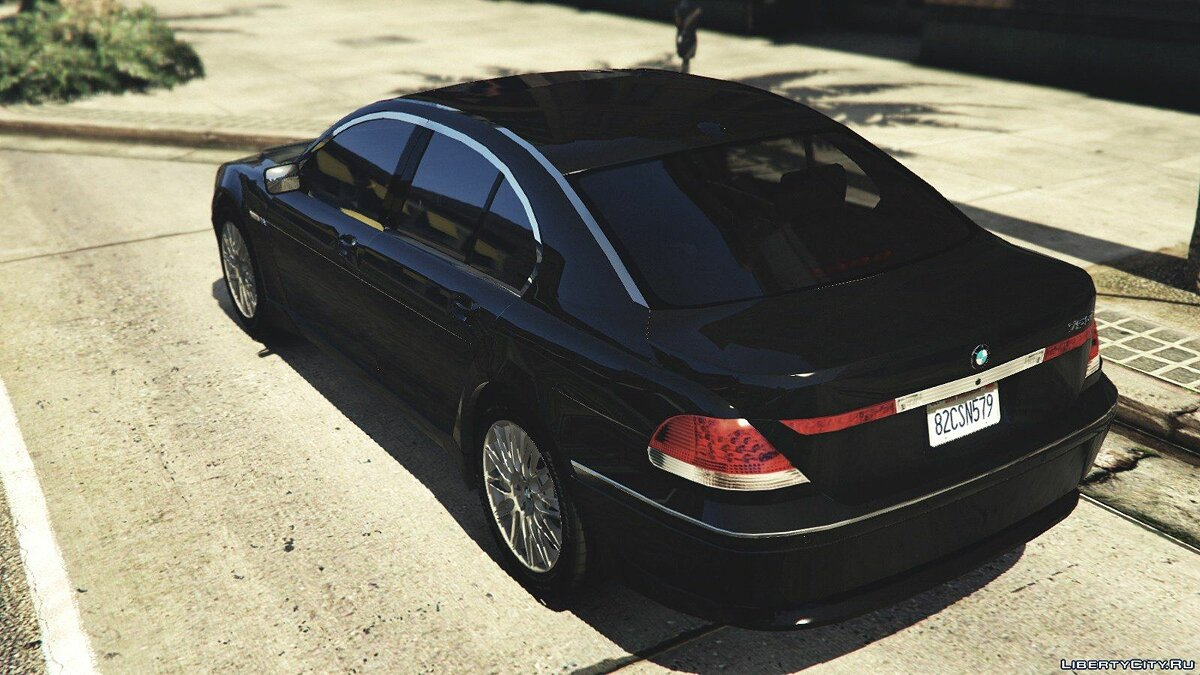 BMW 760i (e65) [Add-On/Replace] v1.1 для GTA 5 - Картинка #6