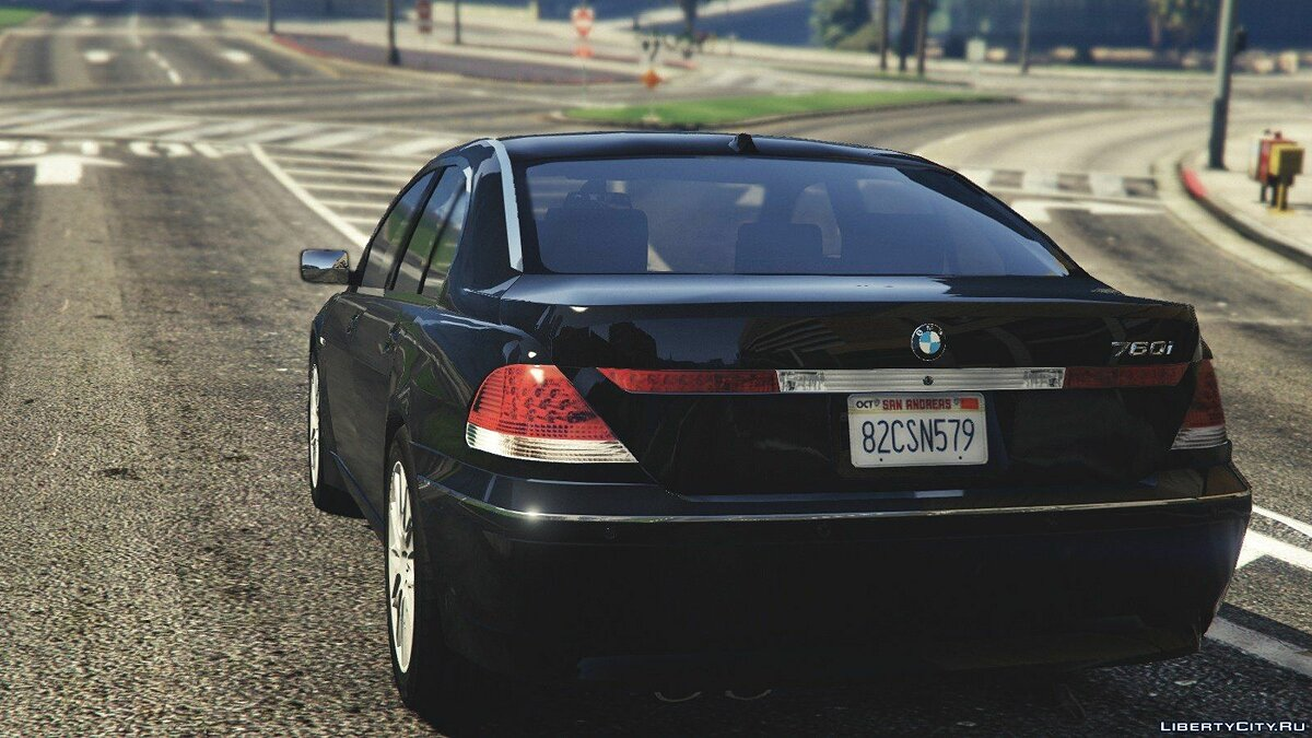 BMW 760i (e65) [Add-On/Replace] v1.1 для GTA 5 - Картинка #4
