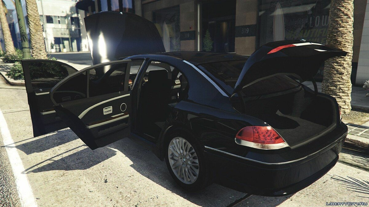 BMW 760i (e65) [Add-On/Replace] v1.1 для GTA 5 - Картинка #10