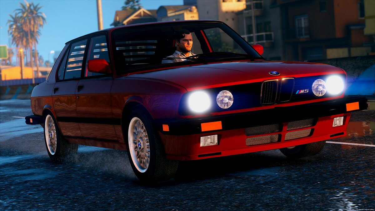 1985 BMW M5 E28 NA-spec [Add-On / Replace] 2.0 для GTA 5