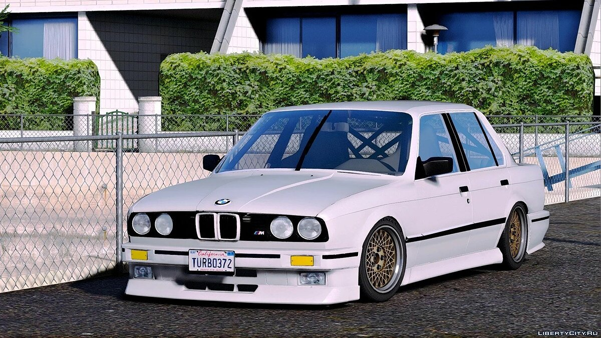 Машина BMW 1986 BMW 325e (E30/PFL/2in1) [Add-On / Replace | Tuning | Extras] 1.0 для GTA 5