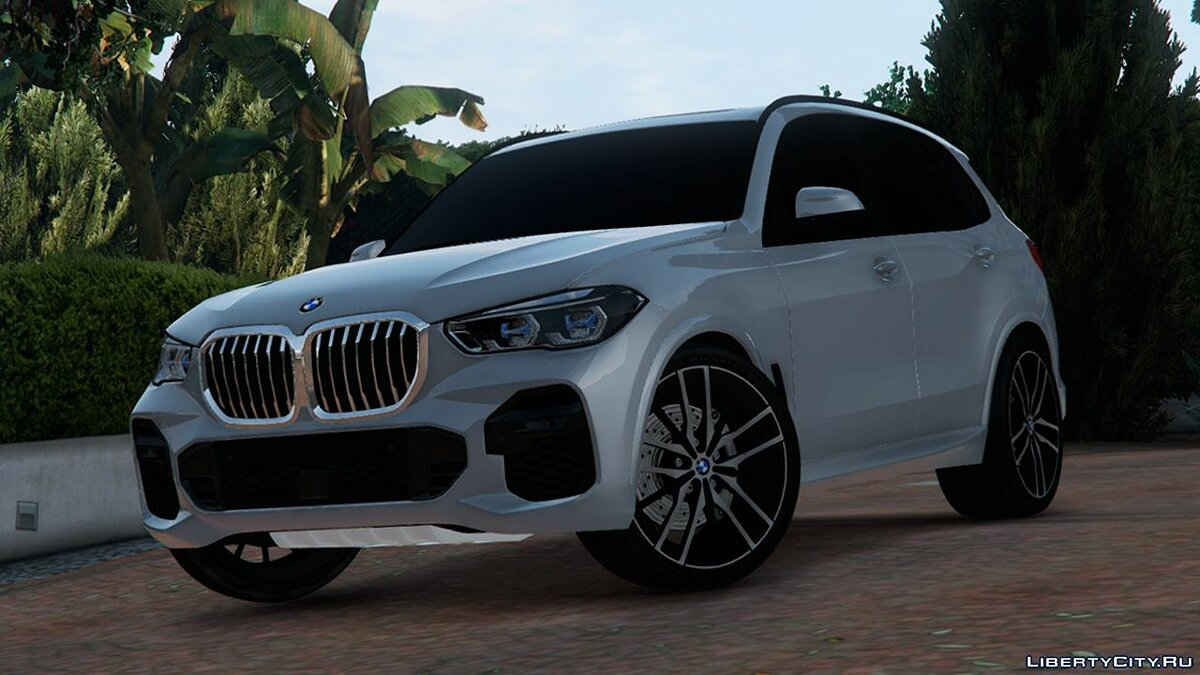 Машина BMW 2019 BMW X5 G05 [Add-On] 1.3 для GTA 5