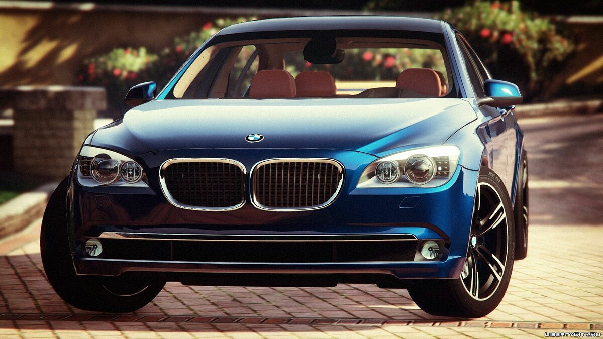 BMW 750Li F01 Original [Replace / Add-on] для GTA 5