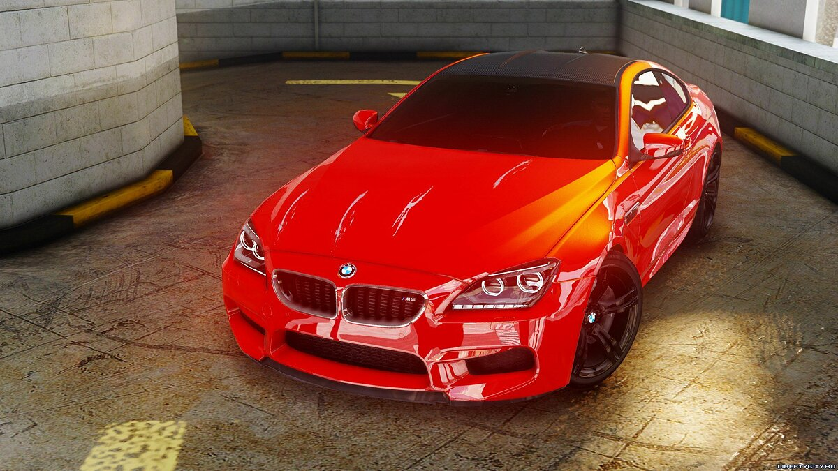 BMW M6 F13 HQ [Add-On / Replace] 1.1 для GTA 5