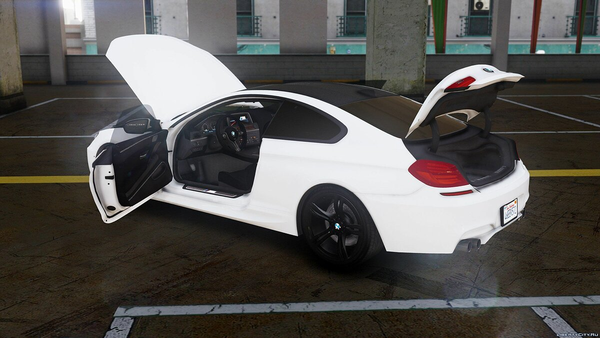 BMW M6 F13 HQ [Add-On / Replace] 1.1 для GTA 5 - скриншот #3