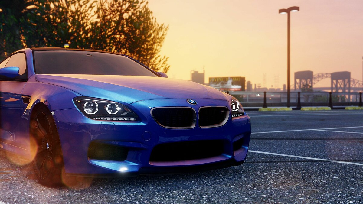 BMW M6 F13 HQ [Add-On / Replace] 1.1 для GTA 5 - скриншот #6