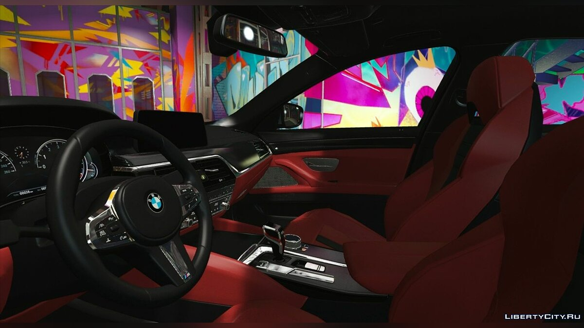 ��ашина BMW 2018 BMW M5 F90 [Replace/HQ/Template/RealPhysics] 1.1s для GTA 5