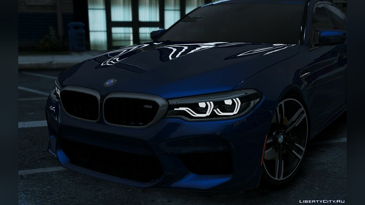 ��ашина BMW BMW M5 F90 2018 [Add-on] 1.0 для GTA 5