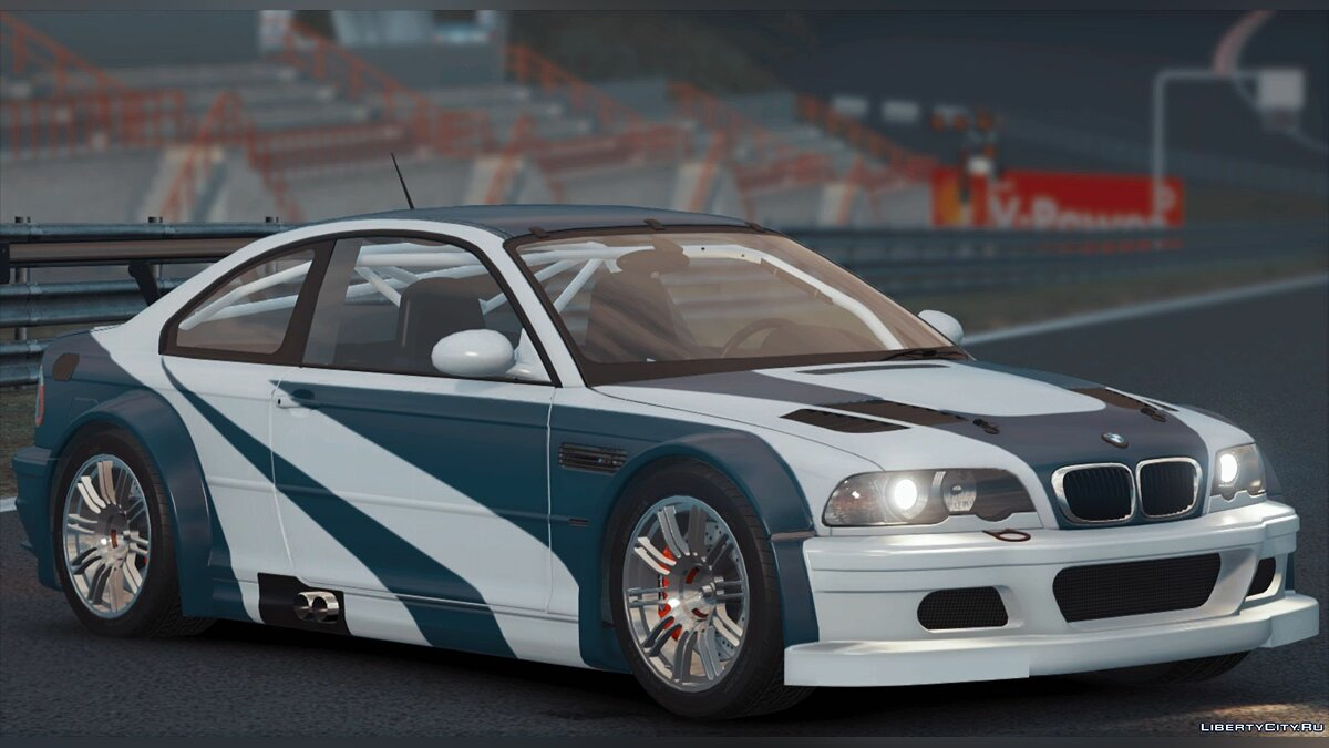 Машина BMW BMW M3 GTR E46 из Need for Speed: Most Wanted для GTA 5