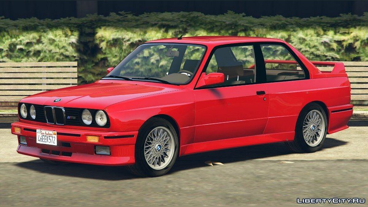 1991 BMW E30 M3 [Add-On / Replace | Livery] 1.6 для GTA 5
