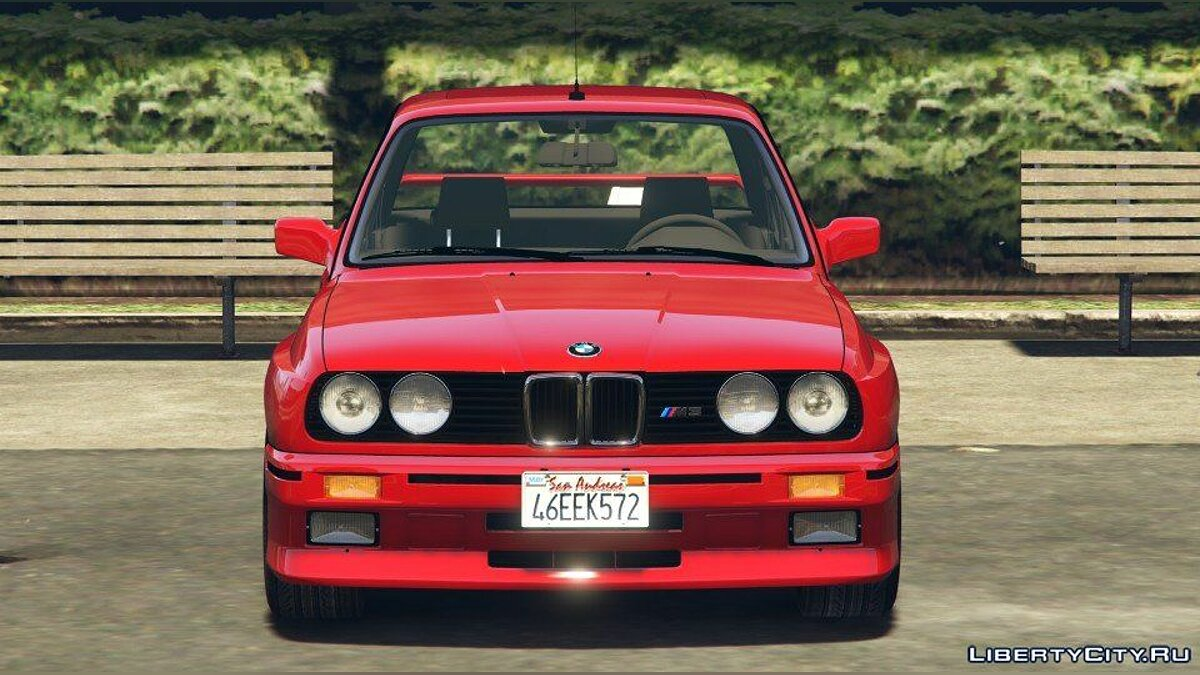 1991 BMW E30 M3 [Add-On / Replace | Livery] 1.6 для GTA 5 - скриншот #2
