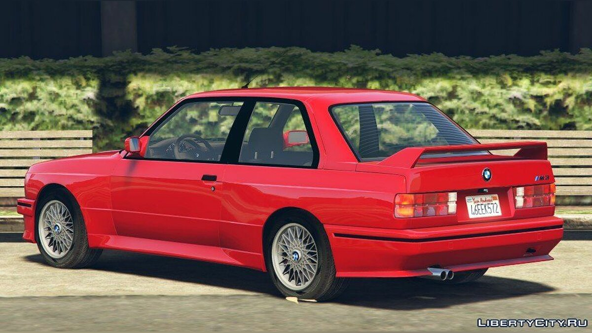 1991 BMW E30 M3 [Add-On / Replace | Livery] 1.6 для GTA 5 - скриншот #3
