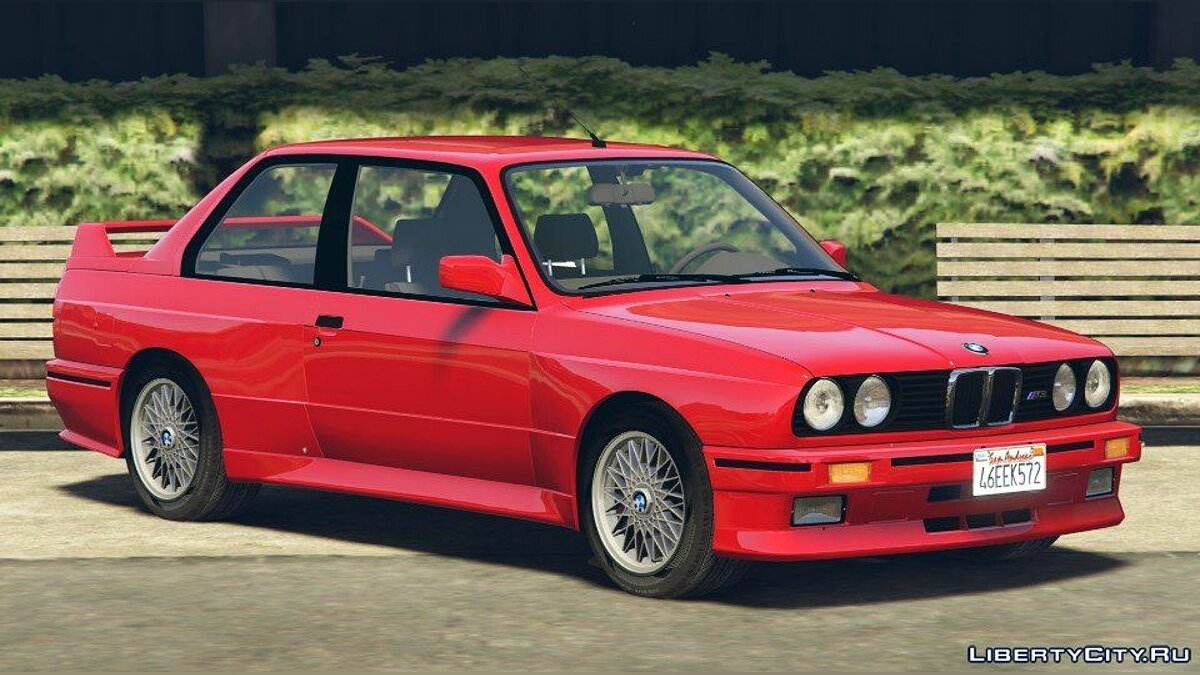 1991 BMW E30 M3 [Add-On / Replace | Livery] 1.6 для GTA 5 - скриншот #4