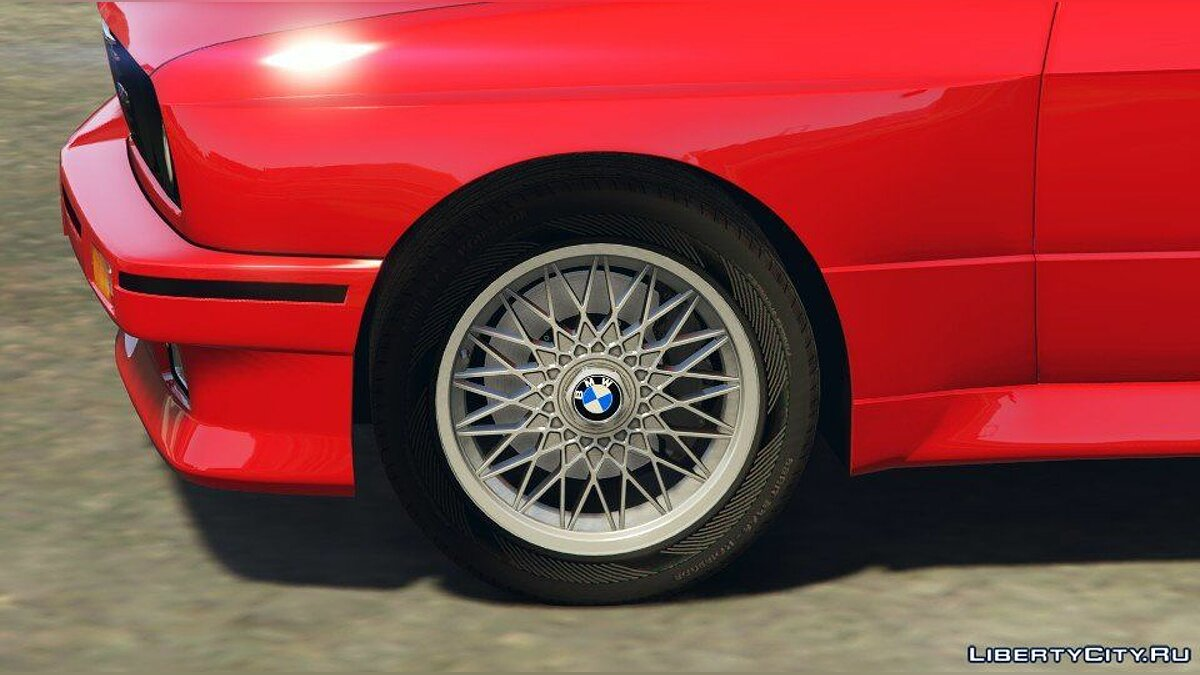 1991 BMW E30 M3 [Add-On / Replace | Livery] 1.6 для GTA 5 - скриншот #5