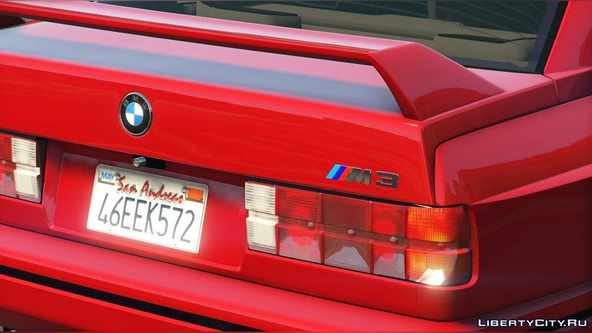 1991 BMW E30 M3 [Add-On / Replace | Livery] 1.6 для GTA 5 - скриншот #6