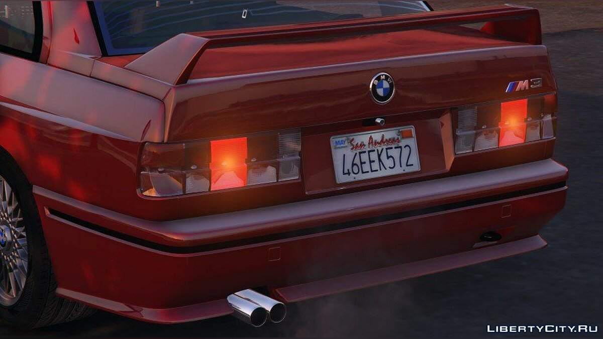1991 BMW E30 M3 [Add-On / Replace | Livery] 1.6 для GTA 5 - скриншот #10