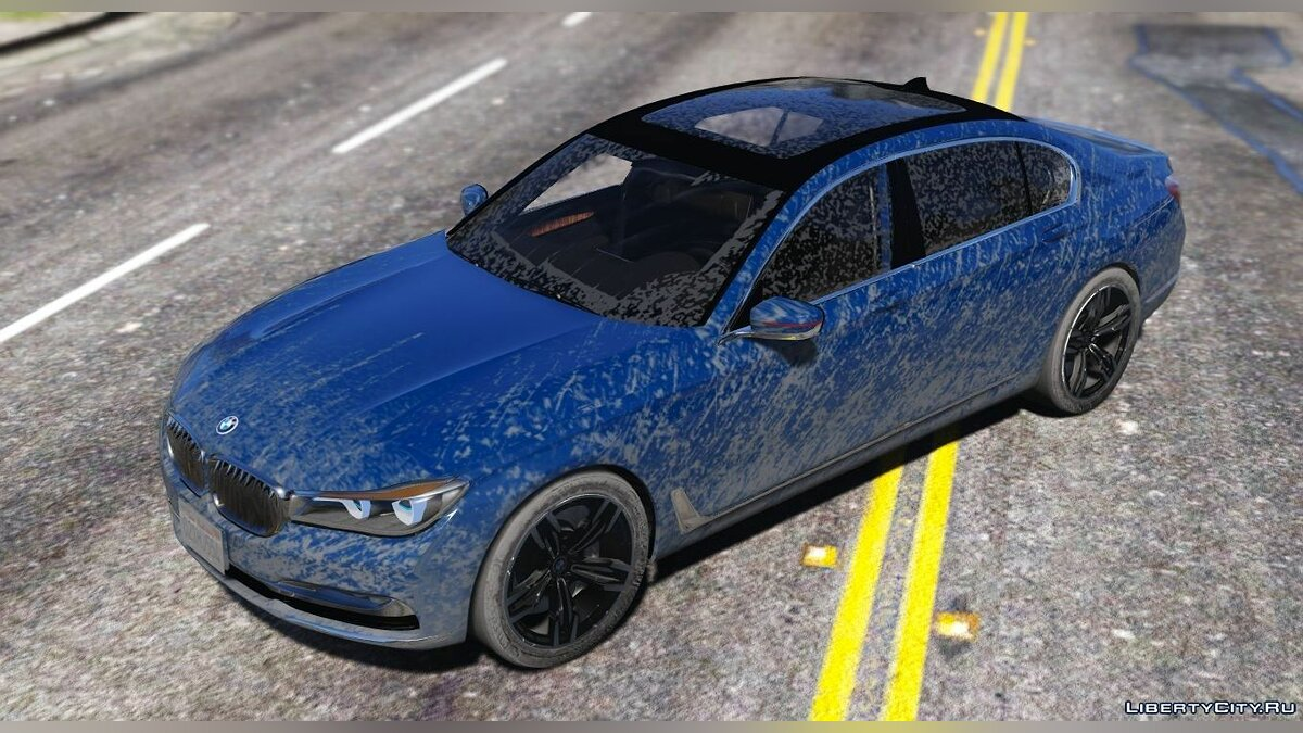 2016 BMW 750Li [Add-On / Replace] 1.2 для GTA 5 - скриншот #2