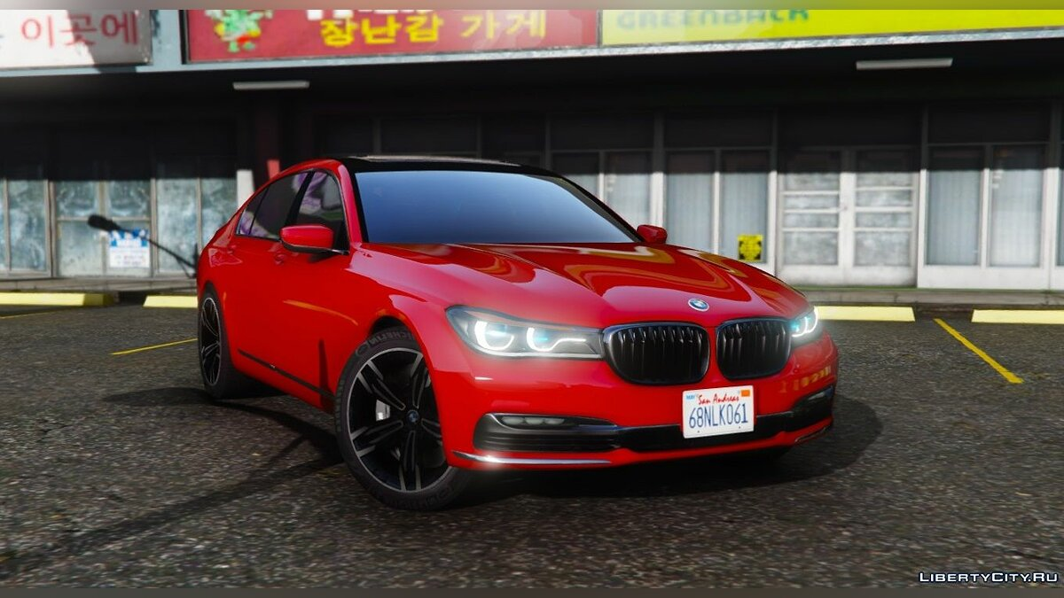 2016 BMW 750Li [Add-On / Replace] 1.2 для GTA 5 - скриншот #3