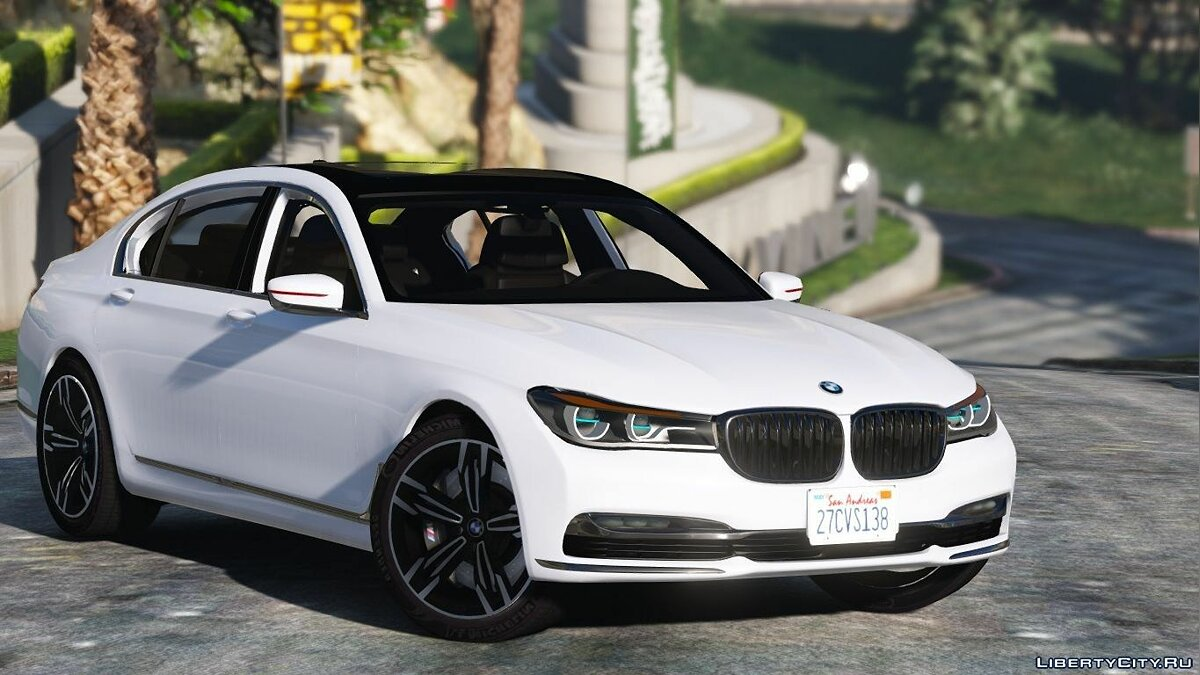 2016 BMW 750Li [Add-On / Replace] 1.2 для GTA 5