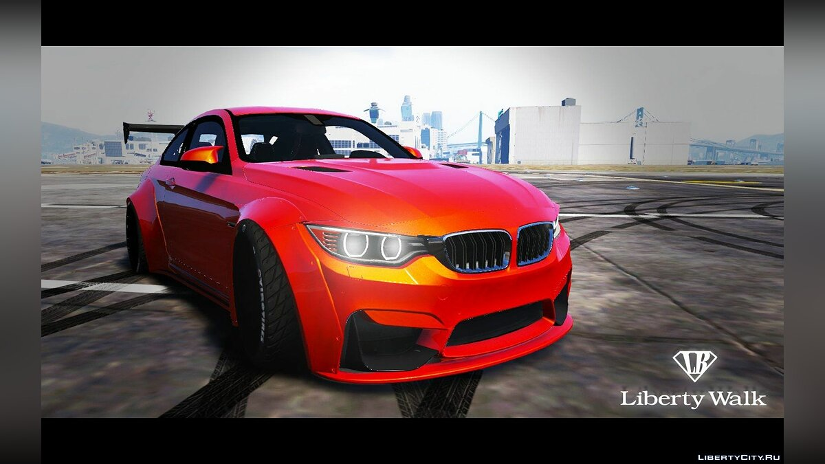 BMW M4 F82 [LibertyWalk] для GTA 5 - скриншот #3