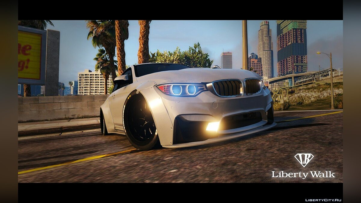 BMW M4 F82 [LibertyWalk] для GTA 5