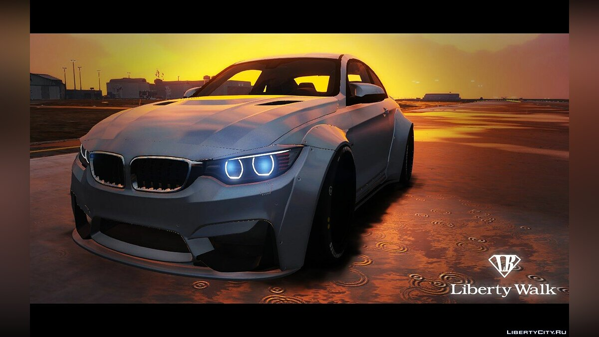 BMW M4 F82 [LibertyWalk] для GTA 5 - скриншот #4