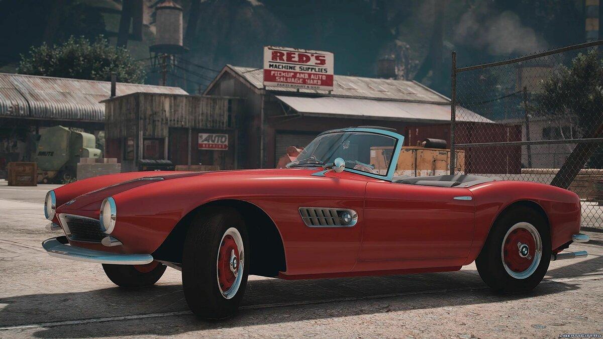 Машина BMW 1959 BMW 507 [Add-On | LODs] 1.0 для GTA 5
