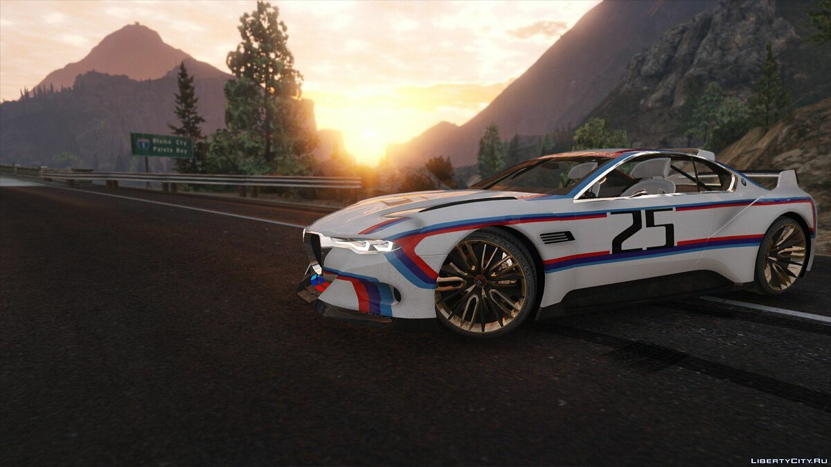 BMW 3.0 CSL Hommage R Concept [Add-On] 1.1 для GTA 5